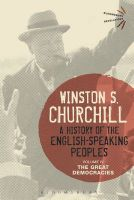 A History of the English-Speaking Peoples: The Great Democracies: Volume IV: Book by Sir Winston S. Churchill