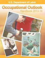 Occupational Outlook Handbook 2013-2014: Book by U.S. Department of Labor