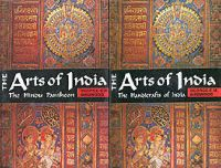 Arts of India. The Religious motives in Indian Handicrafts. 2 Volumes Set: Book by Birdwood, C. M.