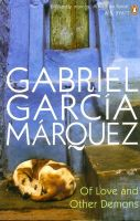 Of Love And Other Demons:Book by Author-Gabriel Garcia Marquez