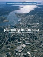 Planning in the USA: Policies, Issues and Processes: Book by Roger Caves ,J. Barry Cullingworth