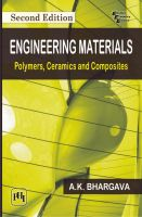Engineering Materials: Polymers, Ceramics and Composites: Book by A.K. Bhargava