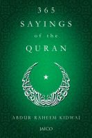 365 Sayings of the Quran: Book by Abdur Raheem Kidwai