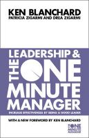 Leadership and the One Minute Manager: Book by Kenneth H. Blanchard