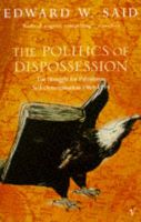 The Politics Of Dispossession: Book by Edward W. Said