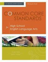 Common Core Standards for High School English Language Arts: A Quick-Start Guide: Book by Susan Ryan,   (Ed (Ed (Ed (Ed (Ed (Ed     (Ed                                       (Ed (Ed (Ed (Ed         (Ed (Reader in Educational Development in the Health Sciences, University of East London)