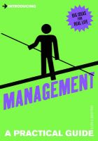 Introducing... - Introducing Management: A Practical Guide: Book by Alison Price , David Price