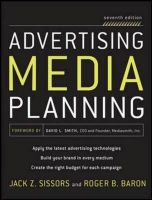 ADVERTISING MEDIA PLANNING 7E: Book by ROGER BARON