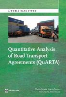 Quantitative Analysis of Road Transport Agreements (QuARTA): Book by Charles Kunaka