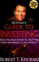 Rich Dad's Guide to Investing: Book by Robert T. Kiyosaki