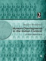 Human Development in the Indian Context: v. 2: Socio-cultural Focus: Book by Margaret Khalakdina