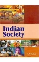 Indian Society: Book by A. P. Thakur