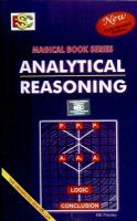 Analytical Reasoning (English) 3rd Edition (Paperback): Book by M. K. Pandey
