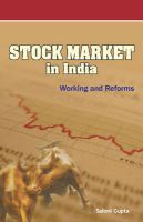 Stock Market in India - Working and Reforms: Book by Saloni Gupta