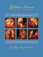 Violin Online String Sampler: Piano Accompaniment: Book by Robin Kay Deverich