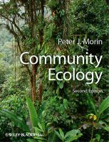 Community Ecology: Book by Peter J. Morin
