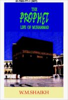 Prophet. Life of Mohammad. 2 Volumes Set: Book by Shaikh, S. W.