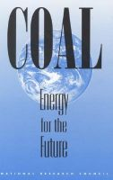 Coal: Energy for the Future: Book by Committee on the Strategic Assessment of the U.S. Department of Energy's Coal Program