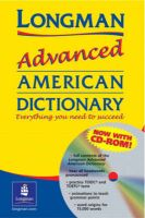 Longman Advanced American Dictionary: Longman Adv American Dictionary Ppr