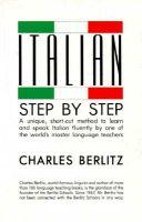 Italian Step-by-Step: Book by Charles Berlitz