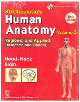 HUMAN ANATOMY 6ED HEAD-NECK BRAIN (PB-2013) VOL 3: Book by CHAURASIA *