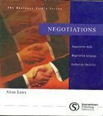 Negotiations: Book by A Laws