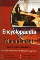 Encyclopadie of management with case study (10 vol) (English): Book by                                                      D Goswami, B.Com., M.Com., Ph.D. & MBA is Reader at V.C. Vasundhara Mahavidyalaya, Barrackpur, having a wide academic, research and teaching experience of more than 15 years in Commerce and Marketing Management. He has been associated with two UGC Major Research Reports. He is on the Boards of sever... View More                                                                                                   D Goswami, B.Com., M.Com., Ph.D. & MBA is Reader at V.C. Vasundhara Mahavidyalaya, Barrackpur, having a wide academic, research and teaching experience of more than 15 years in Commerce and Marketing Management. He has been associated with two UGC Major Research Reports. He is on the Boards of several companies and has been awarded senior ICSSR fellowship. He has presented a number of papers in international and national conferences and seminars. V Swaminathan, B.A. (Hons), M.A. In Geography from Kerala University did his Ph.D. From Delhi University, is teaching Geography at K.C. Dwivedi College, Fatehpur. He has long teaching experience and has been associated with a number of research pertaining to his field. He has been awarded with Rashtra Gaurav. At present he is engaged with research on environment microbiology. Chitranjan Sahay is an esteemed name in the world of management. He is an academic and scholar and at the same time a reputed author. He has obtained all his higher educations B.A. (Hons), M.A. From Benaras Hindu University (B.H.U.), Varanasi and has done his Ph.D. From Toronto University. He had been selected for Civil Service Examination (I.A.S.), but relinquished the job for the sake and interest of education. He is intensively indulged in teaching, writing and research work for last twenty years. He has authored more than ten books on management of different sectors. S.K. Singh has done his B.A. (Hons.) in Geography and M.A., M.Phil. And Ph.D. From Delhi Univesity is a retired professor of geography from J.L. Nehru College, Dehri-on-Sone. He has been intensively involved in varied research projects related to environment. He has also prepared a project on Ganga Action Plan. A proligic writer he has written a number of articles on global warming and environmental change.
