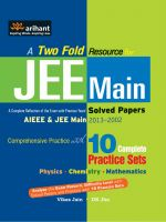 JEE Main Solved Papers (AIEEE & JEE Main 2013-2002): Book by Vikas Jain & DK Jha
