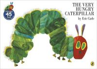 The Very Hungry Caterpillar:Book by Author-Eric Carle