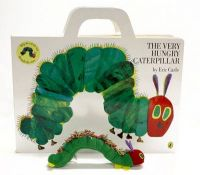 The Very Hungry Caterpillar: Giant Board Book:Book by Author-Eric Carle