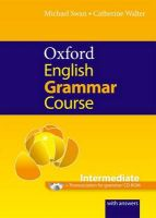 Oxford English Grammar Course: Intermediate: with Answers CD-ROM Pack: Book by Michael Swan