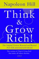 Think & Grow Rich!: Book by Napoleon Hill , Dennis Kimbro