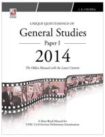 General Studies - 2014 (Paper 1) 35th Edition: Book by Pravin, Kathiravan, Saurav Banerjee, J. K. Chopra, K. M. Pathi, B. M. Panda, Prem Kala Rani