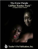 Litplan Teacher Pack: The Color Purple: Book by Christina Stone