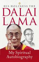 My Spiritual Autobiography:Book by Author-Dalai Lama X I V