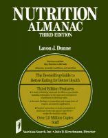 Nutrition Almanac: Book by John D. Kirschmann