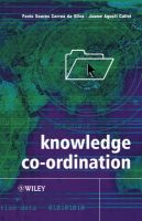 Knowledge Coordination:Book by Author-Flavio Soares Correa da Silva , Jaume Agusti-Cullell