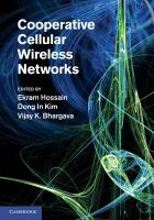 Cooperative Cellular Wireless Networks: Book by Ekram Hossain, Dong In Kim, Vijay K. Bhargava