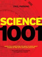 Science 1001: Absolutely Everything That Matters in Science:Book by Author-Paul Parsons
