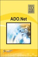Straight to The Point - ADO.Net: Book by Dinesh Maidasani