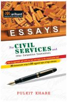 ESSAYS for Civil Services and Other Competitive Examinations: Book by Pulkit Khare