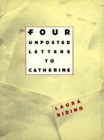 Four Unposted Letters: Book by Laura Riding