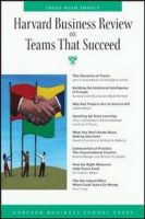 HBR On Teams That Succeed: Harvard Business Review: Book by David A. Garvin