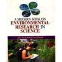 A Modern book on environmental research in science (English): Book by Siddharth Sinha