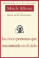 Las Cinco Personas Que Encontaras En El Cielo: Book by Mitch Albom