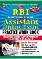 SBI state bank of india & state bank associates clerk online  exams  self study  guide-cum-practice work book solved  paper 2012 to 2014(English)