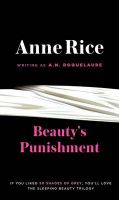Beauty's Punishment: Book by Anne Rice