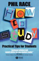 How to Study: Practical Tips for Students: Book by Phil Race