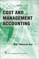 Cost and Management Accounting: Book by M.E. Thukaram Rao
