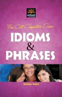 For all Compettive Exams Idioms & Phrases : Book by Roshan Tolani
